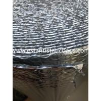 Wholesale Dust Free Silver Bubble Wrap Insulation , 96-97% Reflective Foil Bubble Insulation from china suppliers