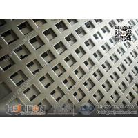 Square Hole Perforated Metal Plate China manufacturer