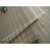 Buy cheap 90 Degrees Wedge Wire Flat Panel Screen Stainless Steel Material from wholesalers