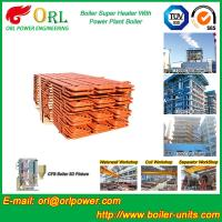 Quality 10T - 1000 Ton CFB Boiler Petrochemical Biomass Industry Superheater Coils High for sale
