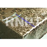 Wholesale High Quality  Metallic PVC Table Cloth from china suppliers