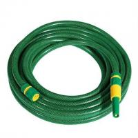 China 15 or 25m PVC garden hose set, garden water hose with sprayer nozzle and fittings on sale