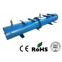 China Long Life Horizontal Shell And Tube Condenser For Central Air Conditioning on sale