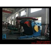 Wholesale 1.2T Pressure Vessel Pipe Rotary Welding Positioner With Worktable Revolving And Tilting Type from china suppliers