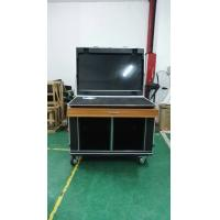 Buy cheap 55inch LED Screen with SDI input Built in Mobile case Moveable use in TV Station or Audio from wholesalers