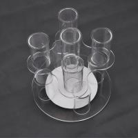 Wholesale Acrylic Clear Advertisement Jewellery Display Stands 100pcs Logo Drilling from china suppliers