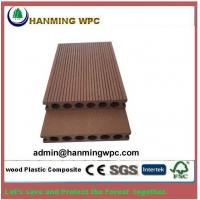 China 2018 wood plastic composite flooring, high quality low price hollow soild wpc decking floor, outdoor flooring wpc deckin on sale
