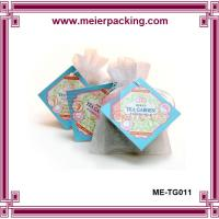 Wholesale Hangtags for loose tea bags, custom paper display hangtags, promotion sale tags ME-TG011 from china suppliers