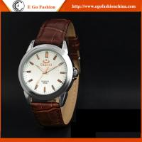 Wholesale 005A New Fashion Women Men Quartz Stainless Steel Watch Rhinestones Couple Leather Watches from china suppliers
