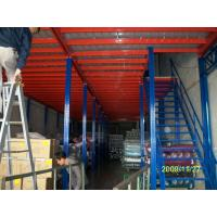 Wholesale Commercial Pallet Racking Mezzanine Floors , Logistics Equipment For Light Duty Products Warehousing from china suppliers