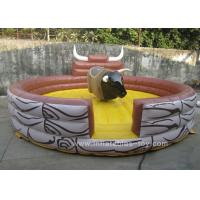 Wholesale Commercial Inflatable Sports Games Children Mechanical Riding Bull from china suppliers