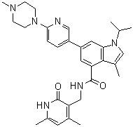 Wholesale High Quality GSK-503 Cas # 1346572-63-1; Purity >98%; Formula C31H38N6O2; APIs&Inhibitors; Molecular Weight: 526.67 from china suppliers