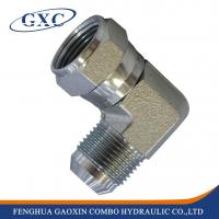 Buy cheap 2J9 Forged/Casting Technics swivel nut 90 degree elbow hydraulic adapter fitting from wholesalers