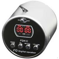 Wholesale TF Card / USB Host Rechargeable Mini Speakers with Red, Blue, Green, Black, Silver 5 Color from china suppliers