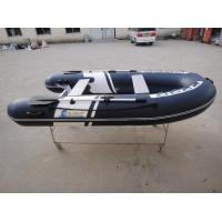 10 Ft Orca Hypalon Small Inflatable Boat , Rigid Hull Inflatable Boats For