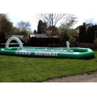Wholesale Grand National Children / Adult Inflatable Interactive Games With Enclosed Race Track from china suppliers