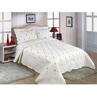 Wholesale Fade Resistant Quilts With Embroidery , 160x240 / 220x240cm Cotton House Quilt Covers from china suppliers