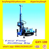 China Cheapest Multi-function Mobile Crawler GXY-100 DTH Hammer Water Well Drilling Rig for sale