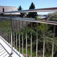 Wholesale High Quality Stainless Steel Window Grill Design Balcony Railing with Wire / Cable / Rod Railing from china suppliers