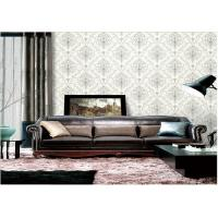Wholesale Removable Embossed Vinyl Wallpaper , Washable Embossed Textured Wallpaper from china suppliers