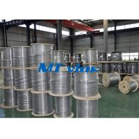Wholesale 1 / 8 Inch Super Long Coiled Stainless Steel Tubing Bright Annealing Surface from china suppliers