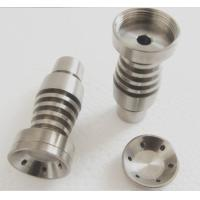 Wholesale Gr2 Domeless Titanium 14mm 18mm Nail For Smoking Vapor Globe Rig Fully Adjustable from china suppliers