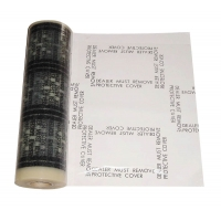 Wholesale PE 4 Mil 24inch Auto Carpet Adhesive Protective Film Plasticover from china suppliers