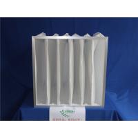 Wholesale White Pocket Air Filter HEPA Pre Filtration System Polyester Filter Bags from china suppliers