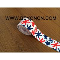 Quality Easy Tearing Rich Ink Printed Sports Tape With Serrate Side And Good Adhesive for sale