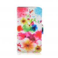 China PU & PC Printed Cell Phone Wallet Cases For Ladies , Huawei G510 / Y300 Cover on sale