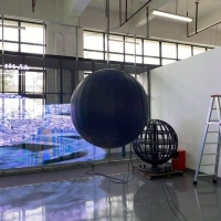 Wholesale 3D Planetarium 1.5m P3 Indoor Led Sphere Display from china suppliers
