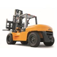 China Heavy Machinery Counterbalance Diesel Forklift Truck 10 Ton Large Capacity for sale