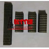 Buy cheap Rotary Slip Inserts Manual Tong Dies High Alloy Steel Heat Treatment Hardness from wholesalers