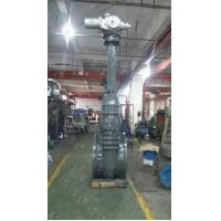 Wholesale Flanged End Flexible Wedge Gate Valve , Large Size 2-36 Inch Cast Steel Gate Valve from china suppliers