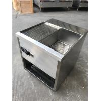 Wholesale Induction Fryer Electric Deep Frying Machine  Double Basket All Stainless Steel  CE from china suppliers