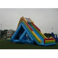 Quality Outdoor Giant Hippo Inflatable Water Slides And Pool For Adults for sale
