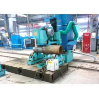 China High efficiency Boiler Header Grinding Machine With Sand Wheel Abrasive Belt on sale