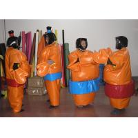 Wholesale EN14960 Durable Kids Inflatable Sumo Wrestling Suits For Interactive Games from china suppliers