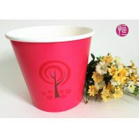 Wholesale 36oz Christmas Decorating Single Wall Paper Plant Pot   Red Color from china suppliers