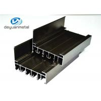 Wholesale Customized  Electrophoresis  Aluminum Extrusion Profile For Decoration 6060-T5 / T6 from china suppliers