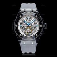 Wholesale Green Sapphire Crystal Watch Case Al2O3 Single Crystal Customized Size from china suppliers
