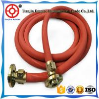 Wholesale Red cover steel wire reinforced high temperature high pressure steam rubber hose from china suppliers