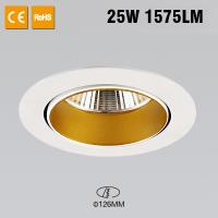 White 6500k Flexible LED Strip , 25 Watts Ceiling Recessed Downlight 1575lm for sale