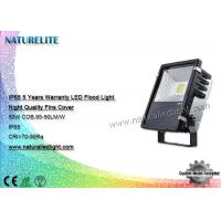 Buy cheap IP65 50W  Led Flood Lights Replacement Thick Fins Cover No Glare 5 Years Warranty from Wholesalers