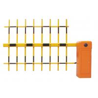 Buy cheap 3 Fence Arm Parking Flap Gate Barrier Rushless DC Motor With Wireless Remote from wholesalers