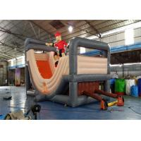 Wholesale Outdoor Durable Commercial Inflatable Slide , Cheap Inflatable Surf N Slide With Customized Size from china suppliers
