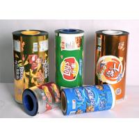 Wholesale OEM  Food Grade Plastic  Sealing Packaging Stretch Roll Film 80-125 Micron  Aluminum Foil Laminated Roll Films from china suppliers