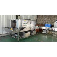 China Crate Washing Machine Fruit Canning Equipment Stable Operation For Disinfection on sale