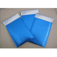 Wholesale Customized Printing Metallic Bubble Mailing Envelopes Blue Color For Shipping from china suppliers