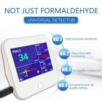 Wholesale Air Quality Monitor, Accurate Testing Formaldehyde(HCHO) Detector with TVOC/AQI/TEMP/HUM Test Data Monitor Europe from china suppliers